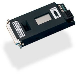 RS-232 Line Driver with Control Signals and LCD Display