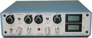 Versatile BP amplifier with digital readouts