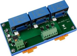 Non-isolation 3-channel Voltage Input Attenuator