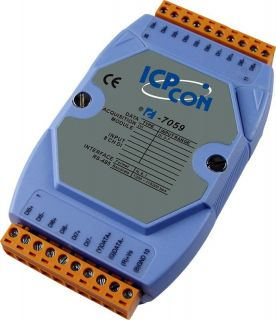 8-channel 10-80VAC Isolated Digital Input Module with 16-bit Counters