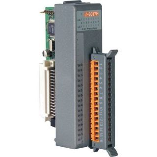 14-bit 100K sampling rate 8-channel analog input module (Gray Cover)