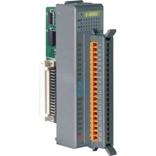 16-channel Non-isolated digital I/O Module (Gray Cover)