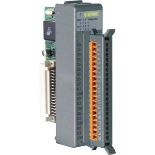 4-channel Isolated Digital Input and 4-channel Relay Output Module with 16-bit Counters (Gray Cover)