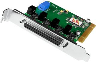 Universal PCI, Serial Communication Board with 4 Isolated RS-232 ports (RoHS).