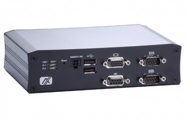 anless Embedded System with Intel® Atom™ Processor E3845/E3827 for Vehicle, Railway and Marine PC