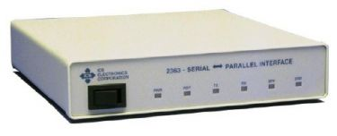 RS-232/RS-485 to Parallel Digital Interface Module
