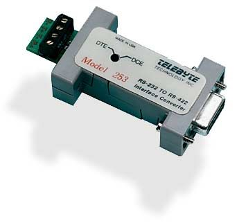 RS-232 to RS-422 - Power Stealing, DB9 Connector