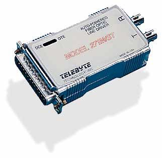 RS-232 Fiber Optic Auto Powered Line Driver
