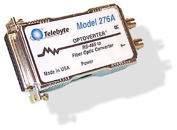 RS-485 to Fiber Optic Converter, 2 wire