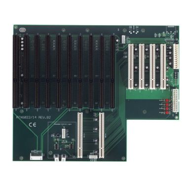 14-slot ATX-supported PICMG Bus Passive Backplane