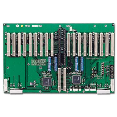 20-slot ATX-supported Bridged PICMG Bus Active Backplane