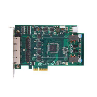 AX92320 - 2-port/4-port PCI Express GigE Frame Grabber Card