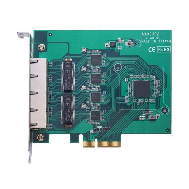 AX92322 - 2-port/4-port GigE PCI Express Card