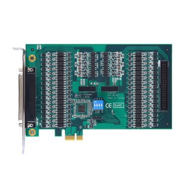 AX92351 - 32-CH/64-CH Isolated Digital I/O PCI Express Card with Digital Filter