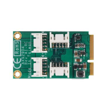 Full-Size PCI Express Mini Module with 32 bit DIO AX92904