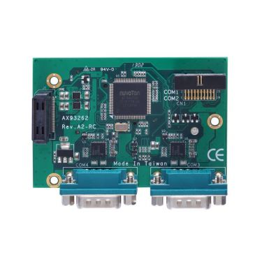 AX93295	ZIO module with two isolated COM ports and three USB 3.0 ports for CAPA840, CAPA843, CAPA880, CAPA500, CAPA313