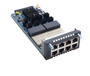 AX93326 8-port GbE Copper LAN Module
