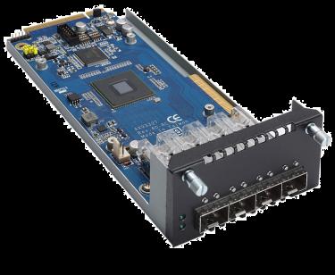 AX93327 - 4-port 10GbE Fiber LAN Module