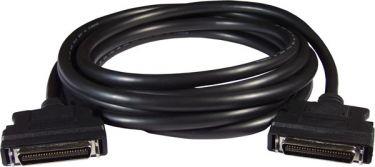 SCSI II 50-pin & 50-pin Male connector cable 3m, for Panasonic & Yaskawa motor