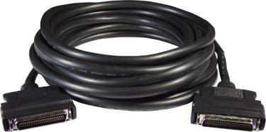 SCSI II 50-pin & 50-pin Male connector cable 5m, for Panasonic & Yaskawa motor