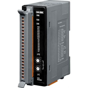 CAN bus Remote I/O module with CANopen protocol of 8-Channel PWM and 8-Channel High Speed Counter