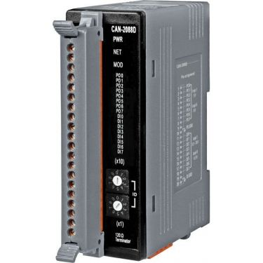DeviceNet Slave Module of 8-Channel PWM and 8-Channel High Speed Counter