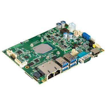 "CAPA310HGGA-E3940-ZIO 3.5"" embedded SBC with Intel® Atom® x5-E3940 processor (1.6 to 1.8 GHz, 2MB Cache, 9.5W), HDMI, LVDS, 2 GbE LANs, audio, ZIO and heatsink"