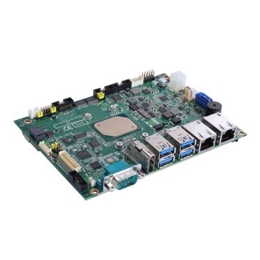 """3.5"""" Embedded SBC with Intel® Atom® x5-E3940 processor (1.6 - 1.8 GHz, 2MB cache, 9.5W), HDMI, LVDS, 2 GbE LAN and audio"""