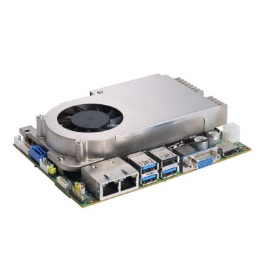 "CAPA500 3.5"" Embedded SBC with LGA1151 Socket 7th/6th Gen Intel® Core™ i7/i5/i3 Processor, LVDS/VGA/HDMI, Dual GbE LANs and Audio"