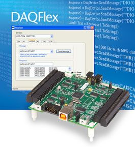 DAQFlex Open-Source Software Framework