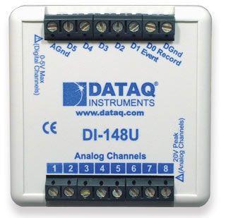 8-Channel, 10-Bit, Low Cost USB Data Acquisition System