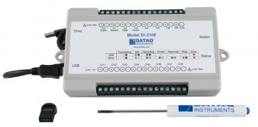 DI-2108 USB Data Acquisition (DAQ) System