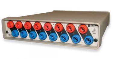 8-channel, high-voltage waveform recording system