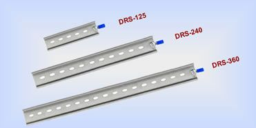 Stainless 35mm DIN-Rail 125mm length approx.