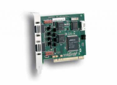2 port RS-422/485 PCI board with surge suppression