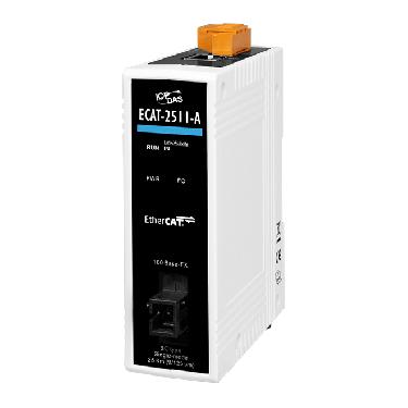 ECAT-2511-A CR EtherCAT Single-Strand Media Converter, TX 1310 nm, RX 1550 nm, SC (RoHS)