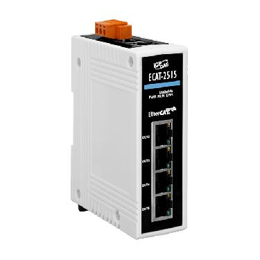 ECAT-2515 CR   1-to-5 Port EtherCAT Junction Slave Module - ICPDAS