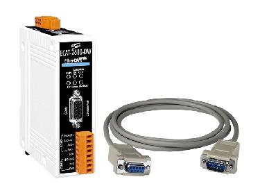 ECAT-2610-DW EtherCAT Save to Modbus RTU Master Gateway (RoHS)