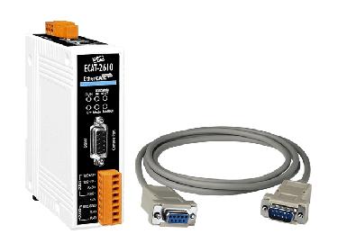 ECAT-2610 EtherCAT Save to Modbus RTU Master Gateway