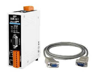 ECAT-2611 EtherCAT Save to Modbus RTU Master Gateway (RoHS)