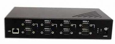 8 port RS-232 Serial Device Server
