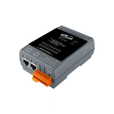 ICPDAS ET-7244 Ethernet I/O Module with 2-port Ethernet Switch, and 8-ch DO, 8-ch DI