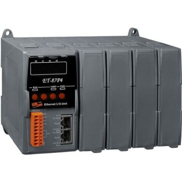 Intelligent Ethernet I/O expansion unit with 4 ports