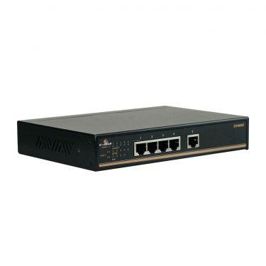 Hardened Web-Smart 5-port 10/100BASE PoE (4 x PoE) Ethernet Switch