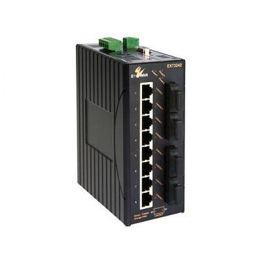 Hardened Managed 16-port 10/100BASE with 2-port Gigabit combo Ethernet Switch
