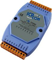 8-channel 10-80VAC Isolated Digital Input Module with 16-bit Counters and LED Display