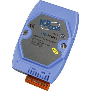 Modbus/TCP Embedded Controller (Ethernet enables Modbus commands to run over TCP/IP)
