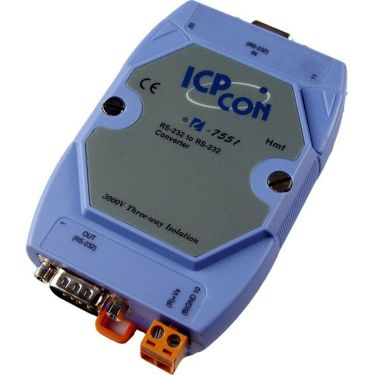 Isolated RS-232 to RS-232 Converter (Blue Cover)