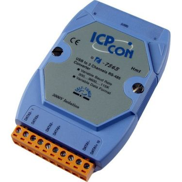 USB to Isolated RS-485 Active Star Wiring Converter