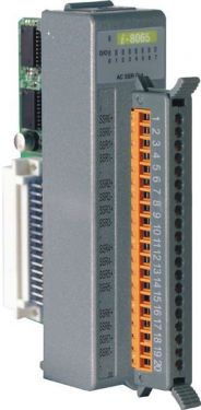 8-channel AC SSR Output Module (Gray Cover)